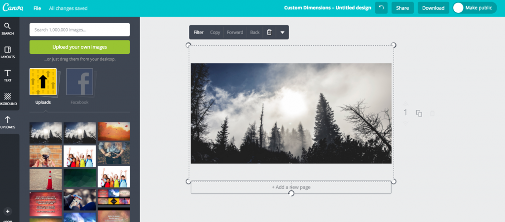 Canva Screenshot 1