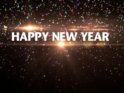 happy new year by videos2worship motion background