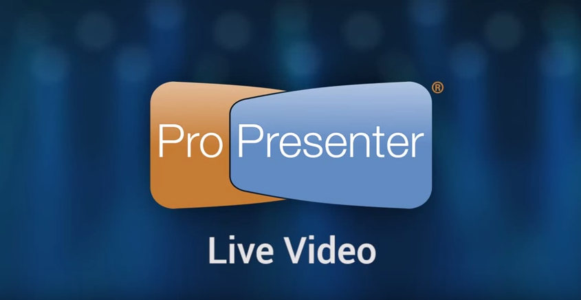 How to Stream Live Video with ProPresenter 6