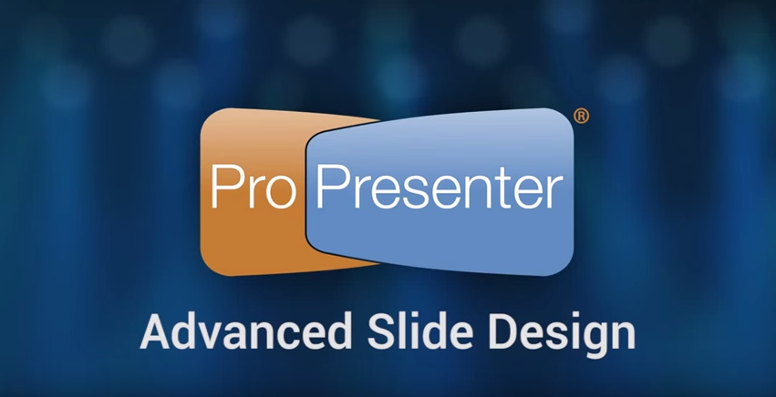 Edit Slides in ProPresenter Using the Advanced Slide Editor