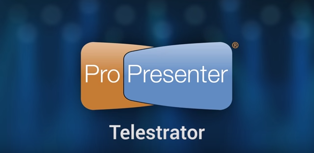 Annotate Slides in Real Time with Telestrator in ProPresenter 6