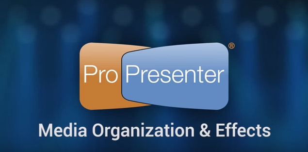 Managing and Storing Media in ProPresenter 6