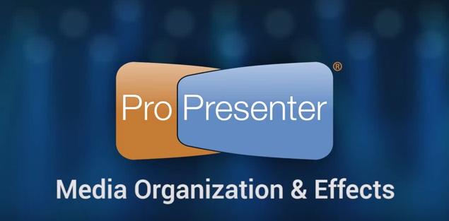 Managing and Storing Media in ProPresenter 6