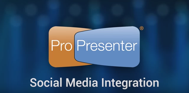 Using Twitter and Instagram in ProPresenter 6