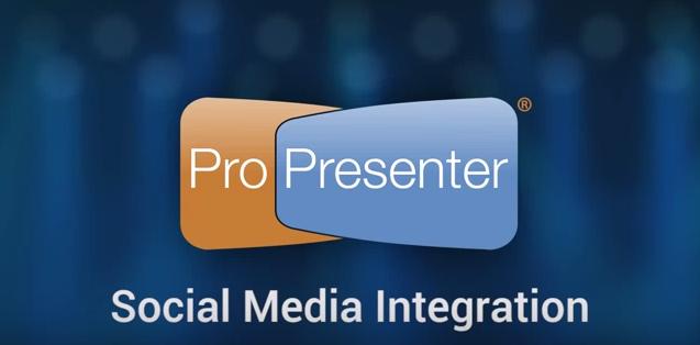 Using Twitter and Instagram in ProPresenter 6
