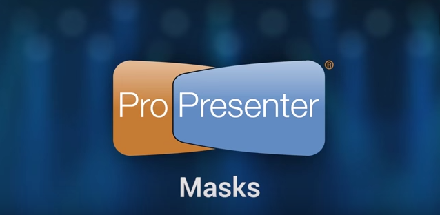 Using Masks To Change Projection Shape in ProPresenter 6