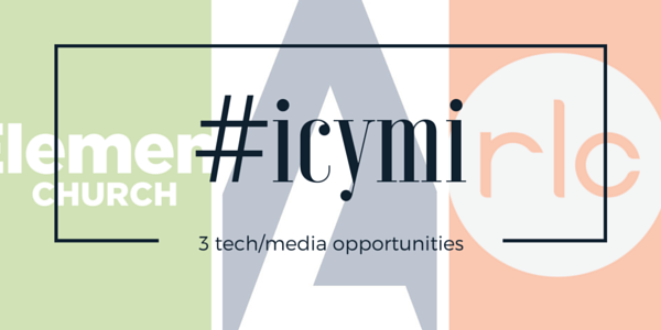 CMB - #icymi - 3 Tech Jobs