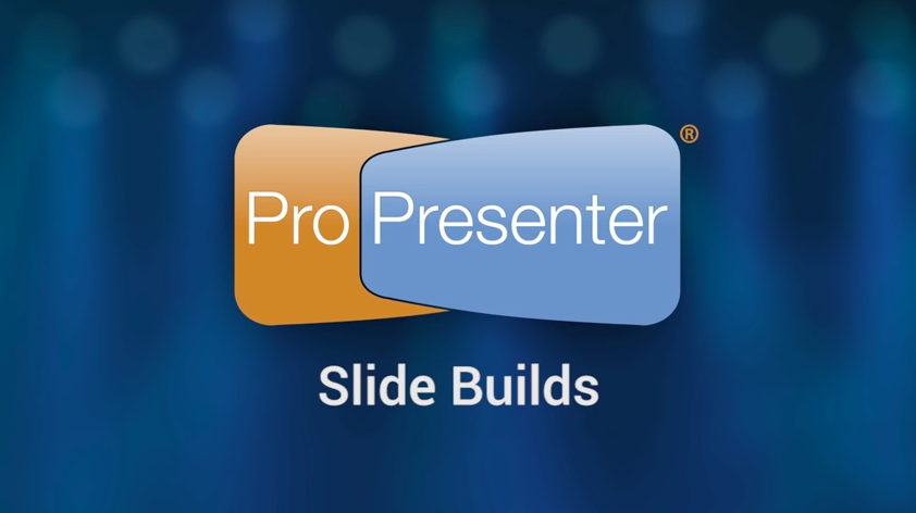 Creating Dynamic Slides in ProPresenter 6